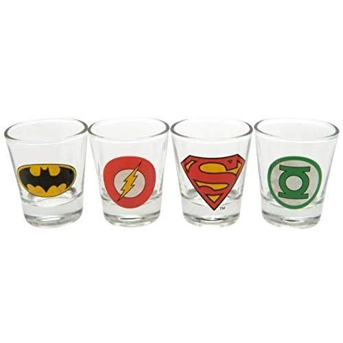 GB Eye LTD, DC Comics, Logos, Vasos para chupito
