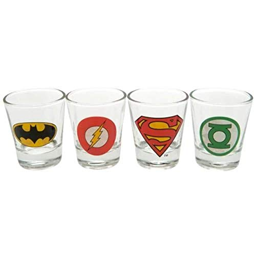 GB Eye LTD, DC Comics, Logos, Vasos para chupito