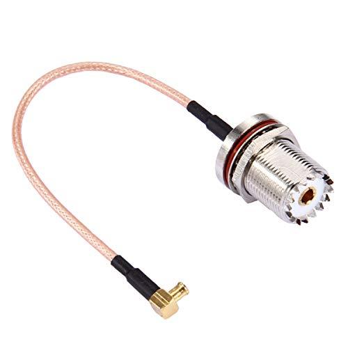 ILS - kabel RG316 90 graden gehoekt UHF vrouwelijk op MCX mannelijk