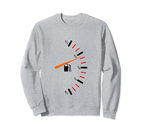 Kraftstoffanzeige Gastank Sweatshirt