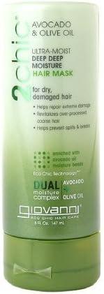 Giovanni Max 52% OFF 2chic Ultra-Moist Deep Omaha Mall Hair Moisture Mask Avocado