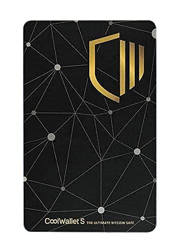 CoolWallet S - Cartera inalámbrica Bitcoin