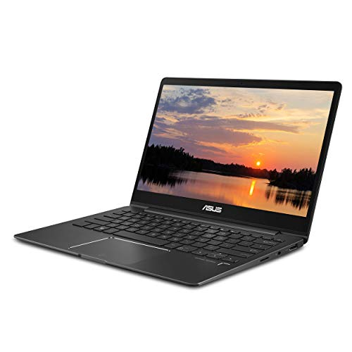 ASUS ZenBook 13 Laptop 13.3in FHD WideView Touch, 8th Gen Intel Core i5-8265U Processor, GeForce MX150, 8GB LPDDR3, 256GB SSD,Fingerprint, Windows 10 - UX331FN-DH51T, Slate Grey (Renewed)
