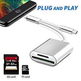 2 in 1 SD Card Camera Reader, Rocketek TF & SD Card Reader Adapter Dual Slot Trail Game Camera Viewer Memory Card Reader… 8 【Sony XQD Card Reader】USB 3.0 TF/CF/SD/XQD reader is designed for photographers, which is easily to download pictures and videos from your XQD card reader to your laptops/computers via the USB 3.0 interface, offer you versatile transfer solution between multi-format memory cards and PC or tablet. 【High-Speed Transmission】 Rocketek XQD card reader is updated version of Sony card reader with super speed USB 3.0 technology, maximum transfer speed up to 5Gbps for the XQD card TF card CF card SD card . More faster, accelerate working efficiency. Ideal for transferring high-resolution images and video recordings. 【Wide Compatibility】For professional equipment such as Nikon D4/D5/D500 and other cameras with XQD cards.USB 3.0 Multi-Card Reader Compatible with Windows 2000/XP/Vista/7/8/8.1/10(32/64-bit), Mac OS X and above without driver.Note: Do not support XQD N, S, H series.