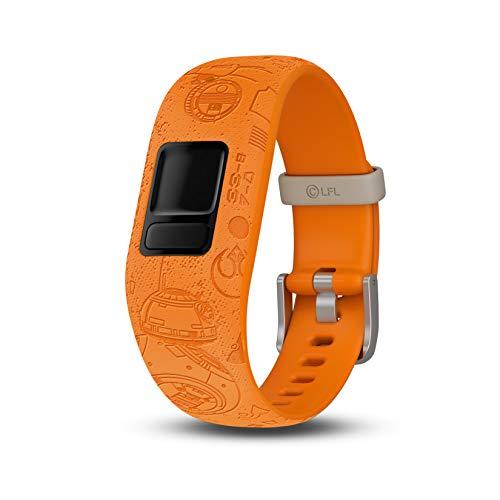 Garmin vivofit Jr. 2 Star Wars Light Side Accessory Band Only, Orange Correa para Reloj, Naranja, Ajustable