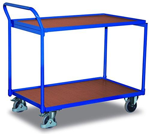 Tischwagen 2 Ladeflächen RAL5010...