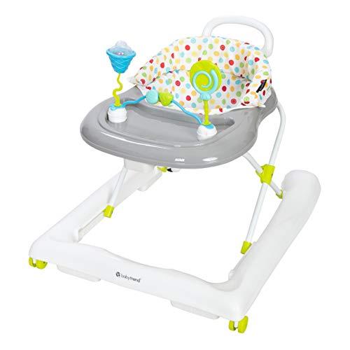 Baby Trend Trend 3.0 Activity Walker Yellow Sprinkles, Silver/Multi