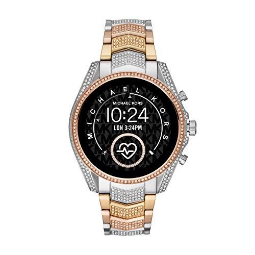 Michael Kors Bradshaw 2 Smartwatch - Tri-Tone Stainless Steel