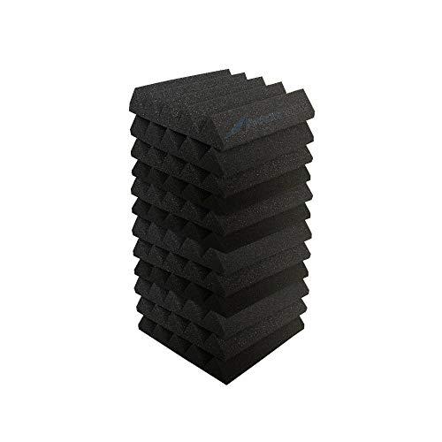 Arrowzoom 12 Panels Cuña Wedge absorción de sonido Espuma acústica...