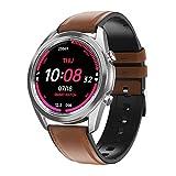 l b s DT91 Smart Watch Bluetooth Call Presión arterial Frecuencia Cardíaca Fitness Tracker Sport Smartwatch (A)