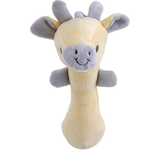 Wwwl weiche Spielzeug Baby krippe Bett hängen weiche Kuh Sticks Puppe plüsch handgriff Tier Spielzeug kinderkomfort Hand palbbing Geschenke littleder JXNB (Color : Littledeer)