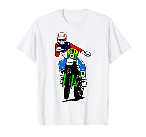 Classic Enduro T-Shirt Moto Cross Offroad Motorrad