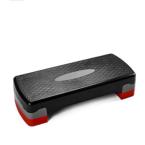 InChengGouFouX Phoenix Fitness vuxna justerbar fitnessplattform aerobic stepper aerobics yoga gym för att gå ner i vikt eller bränna kalorier. Ldeal för enkel fitness (färg: Röd, storlek: En storlek)