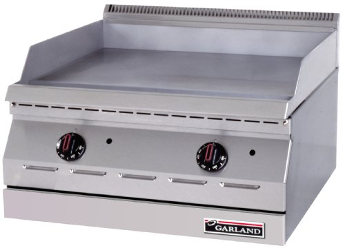 Best Price Garland GD-36G Designer Series Countertop Gas Griddle 36W with 36W x 18D Cooking Surfa...