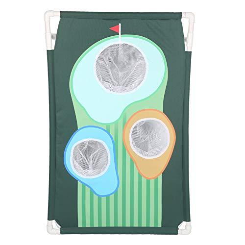 Wosune Red de Entrenamiento de Golf, Red de Swing de Golf Almacenamiento de Gran Capacidad para práctica de Golf para Deportes al Aire Libre para Jugadores de Golf para Juegos de Golf