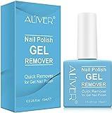 Removedor de esmalte de uñas Magic – profesional elimina el esmalte de uñas en 3 – 5 minutos para uñas naturales, de gel, acrílico, esculpidas, rápida y fácilmente, no daña las uñas