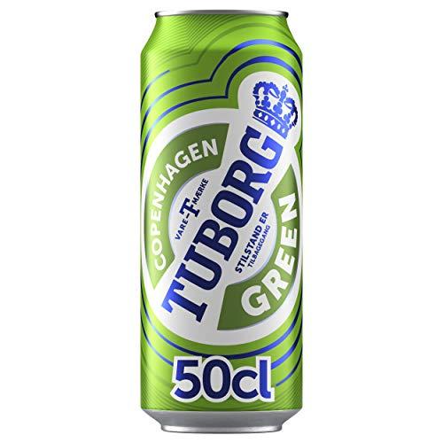 Cerveza Importada Premium Tuborg 24 latas de 500ml c/u