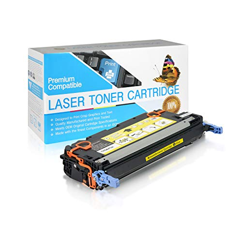 SuppliesOutlet Compatible Toner Cartridge Replacement for HP 502A / Q6472A (Yellow,1 Pack)