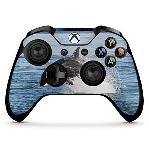 DeinDesign Skin kompatibel mit Microsoft Xbox One X Controller Folie Sticker Orca Wal Meer
