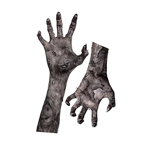 NORTH Decoraciones de Pared de Mano de Fantasma de Halloween Pegatinas de Pared de Mano de Fantasma de Vampiro de Miedo Pegatinas de Ventana Autoadhesivas de Ventana de Horror de