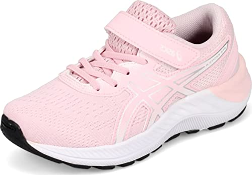 ASICS Kid's PRE Excite 8 PS Running Shoe, 3, Pink Salt/Pure Silver