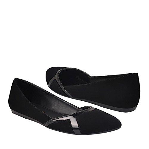 MY CLASBEN Zapatos 142101 Suede Negro 25