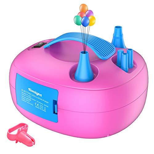 profesional ranking Globo eléctrico inflable Tomite, bomba de globo eléctrica inflable, bomba de aire portátil … elección