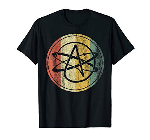 Atheist, Anti Religion T-Shirt: Atheist Atom, Atheist Symbol