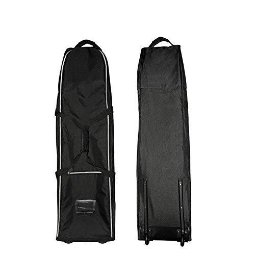 Jtoony Golf-Reisetasche mit Rollen Golfreisetasche wasserdichte Golftasche Golf Air Carrier Paket Hochwertiges GOL mit Schlepperairbag Golfzubehör Golfbags (Color : C1, Size : 130 * 33 * 32cm)