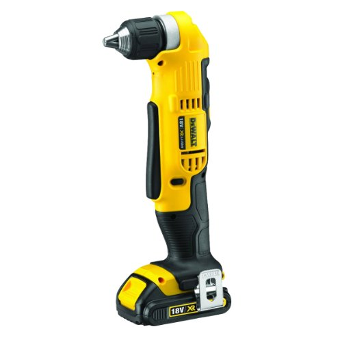 DeWalt 18V XR Lithium-Ion Cordless 2-Speed Angle Drill with Batteries