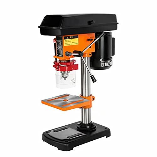 500W Vertikalbohrmaschine - 8 Zoll 5-Gang-Tischbohrmaschine, multifunktionale Tischbohrmaschine, industrielle Tischbohrmaschine mit Flachzange, verwendet für Werkstatt, Holzbearbeitung, Heimwerker