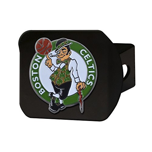 FANMATS NBA Boston Celtics NBA - Boston Celticscolor Hitch - Black, Team Color, One Size