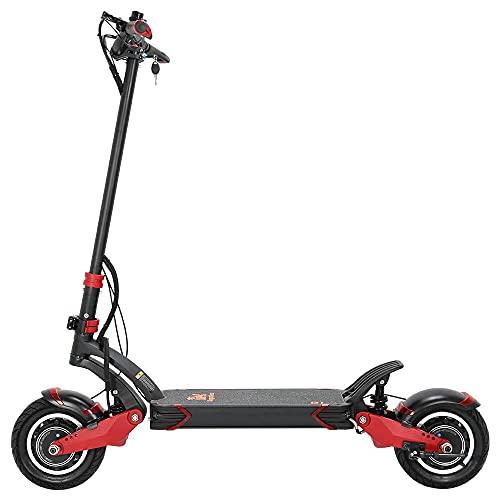 DANTENAI Scooter eléctrico EU Warehouse 2021 KugooKirin Super G1 para adultos, 2000 W, motor doble, hasta 65 km/h, resistencia 60 km
