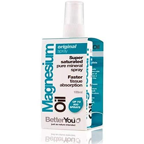 BetterYou Magnesium Oil Spray Original, 100ml - Pack of 2