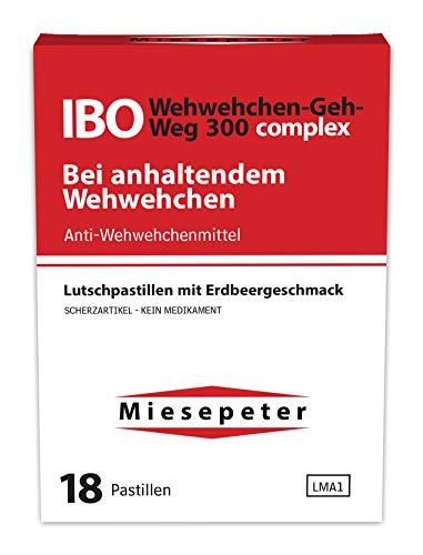 Miesepeter Bonbons - IBO Wehwehchen-Geh-Weg 300 complex - Lustige Geschenke