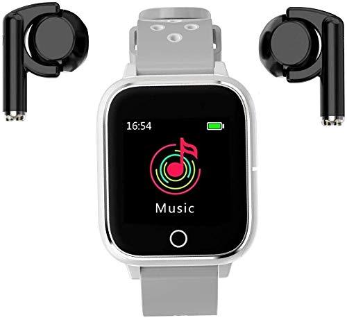 3 en 1 1.4 pulgadas smartwatch TWS MP3 Sport Bracelet Bluetooth Smart Watch-Blanco