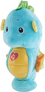 Fisher-Price Soothe & Glow Seahorse, Empaque libre de frustración, azul, Azul
