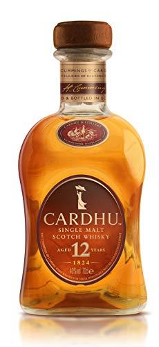 Cardhu 12 Años Whisky Escocés Puro de Malta Edición Limitada en Estuche de Regalo - 700 ml