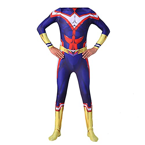 My Hero Academia All Might Combinaison unisexe pour Halloween Cosplay, All Might, S