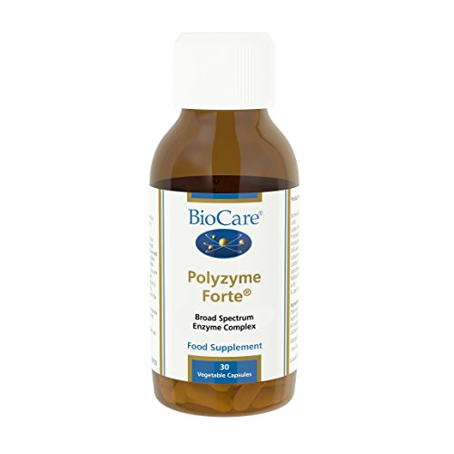 Biocare Polyzyme Forte Vegetable - Pack of 30 Capsules