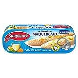 SAUPIQUET - Filets Maquereaux Vin Blanc Et Aromates 176G - Lot De 4 - Vendu Par Lot