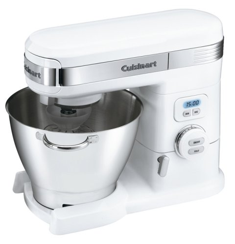 Cuisinart 5-1/2-Quart 12-Speed Stand Mixer, White