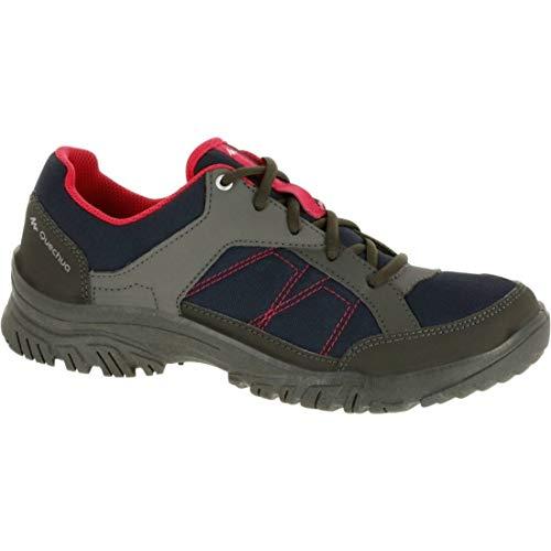 Quechua NH100 Women's Hiking Shoes - Blue Pink (EU 40)