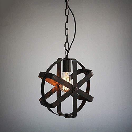 LKK-KK Nordic rústico en Inicio de Mejoramiento Lámparas Lámparas metal del hierro for el comedor de la lámpara pantallas de lámparas colgantes Accesorio de iluminación pendiente Villa Cafe bar del át