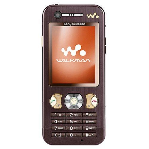 Sony Ericsson W890i UMTS Handy (Quadband, EDGE, MP3-Player, Bluetooth, MemoryStick Micro-Slot) Mocha Brown ohne Branding