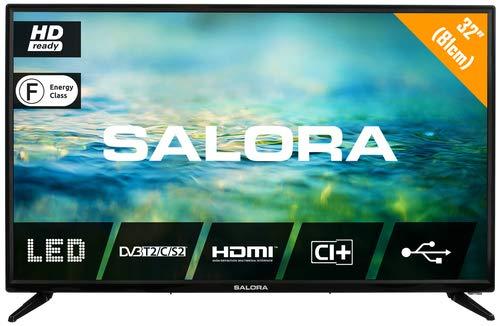 Salora 2100 Series 32LTC2100 TV 81,3 cm (32) HD Noir Téléviseur LED