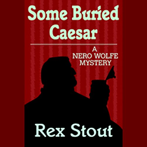Some Buried Caesar audiobook cover art