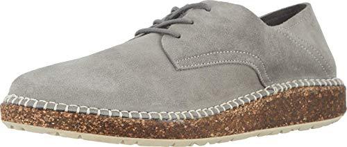 Birkenstock Unisex Gary Shoe, Light Gray Suede, Size 42 EU (9-9.5 M US Men/11-11.5 M US Women)