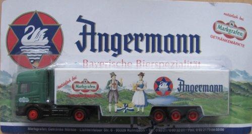 Markgrafen Getränkemarkt Nr.08 - Angermann, Bayerische Bierspezialitäten - Scania - Sattelzug