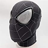 VAWAA Spider Man: Into The Spider-Verse Miles Morales Maske Cosplay Peter Parker Kostüm Superheld...
